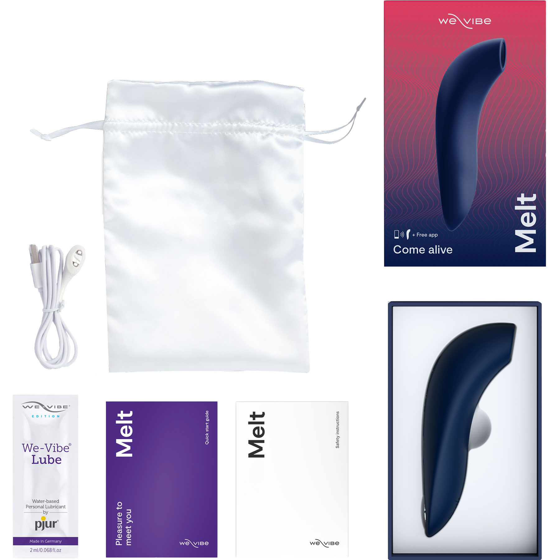 We-Vibe Melt -  What's Included