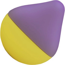 Iroha Mini Vibrator Fuji Lemon - Purple & Yellow