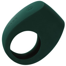LELO TOR 2 Silicone Waterproof Vibrating Cock Ring - Green