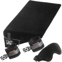 Liberator Black Label Wedge With Wrist Cuffs, Blindfold & Tethers