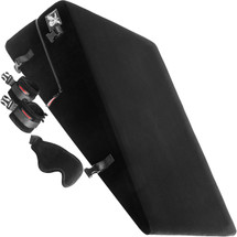 Liberator Black Label Ramp Sex Cushion With Wrist Cuffs, Blindfold & Tethers