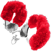 Fetish Fantasy Series Original Furry Cuffs - Red