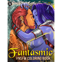 Fantasmic #NSFW Coloring Book - Illustrated by Alex Kotkin