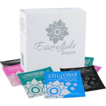 Sliquid Essentials Lube Cube - 6 Varieties of Sliquid Personal Lubricant