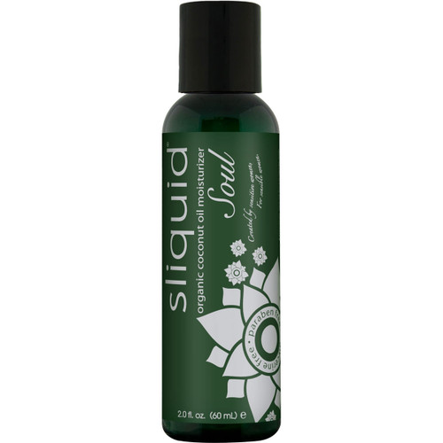 Sliquid Soul Organic Coconut Oil Moisturizer 2 fl oz