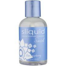 Sliquid Naturals Swirl Blue Raspberry Lubricant 4.2 fl oz