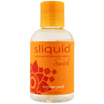 Sliquid Naturals Swirl Tangerine Peach Lubricant 4.2 fl oz
