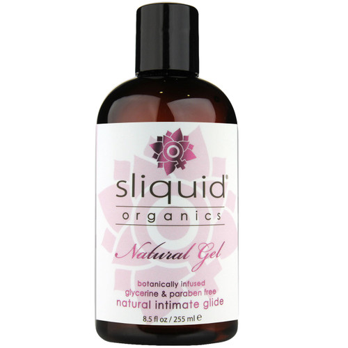 Sliquid Organics Natural Gel Aloe Based Personal Lubricant 8.5 fl oz