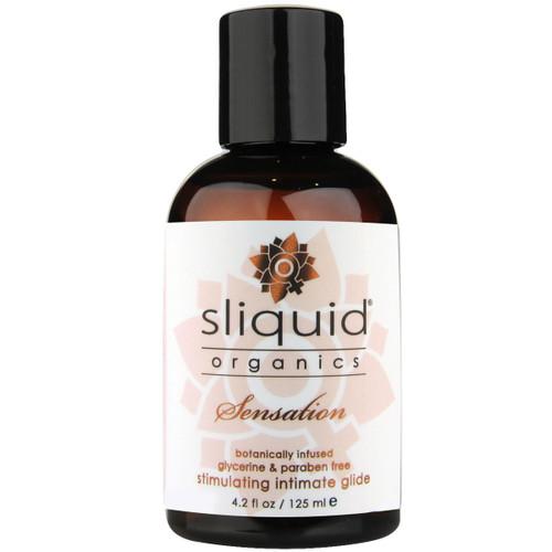 Sliquid Organics Sensation Aloe Based Stimulating Lubricant 4.2 fl oz