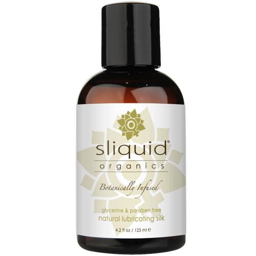 Sliquid Organics Silk Aloe Based Hybrid Lubricant 4.2 fl oz