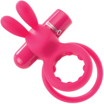 Charged Ohare Rechargeable Vibrating Cock Ring By Screaming O - Pink