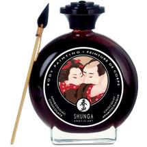 Shunga Edible Body Paint - Aphrodisiac Chocolate 3.5 fl oz