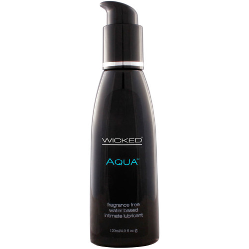 Wicked Aqua Fragrance Free Personal Lubricant 4 oz