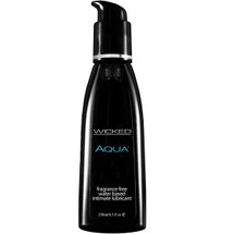 Wicked Aqua Fragrance Free Personal Lubricant 8.5 fl oz