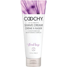 COOCHY Oh So Smooth Shave Cream - Floral Haze 7.2 oz (213 mL)