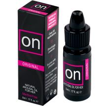 ON Natural Arousal Oil by Sensuva .17 fl oz - Original