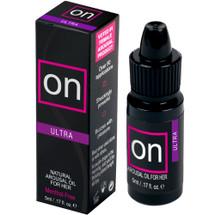 ON Natural Arousal Oil by Sensuva .17 fl oz - Ultra