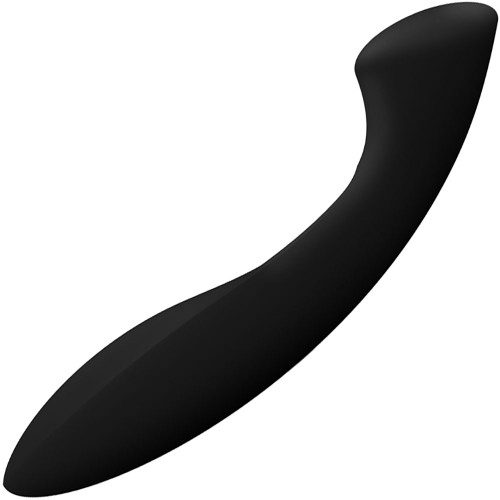 LELO Ella Pleasure Object Silicone G-Spot Dildo - Black