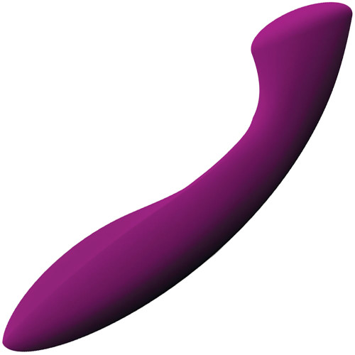 LELO Ella Pleasure Object Silicone G-Spot Dildo - Deep Rose