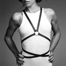 Bijoux Indiscrets MAZE MULTI-WAY BODY HARNESS BLACK