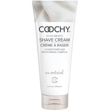 COOCHY Oh So Smooth Shave Cream - Au Natural 12.5 oz (370 mL)