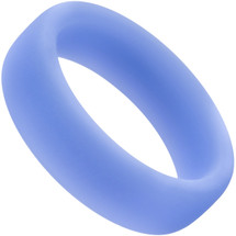 Performance Silicone Glo Pro Cock Ring By Blush Novelties - Blue Glow