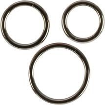 CalExotics Silver Ring Three Piece Set