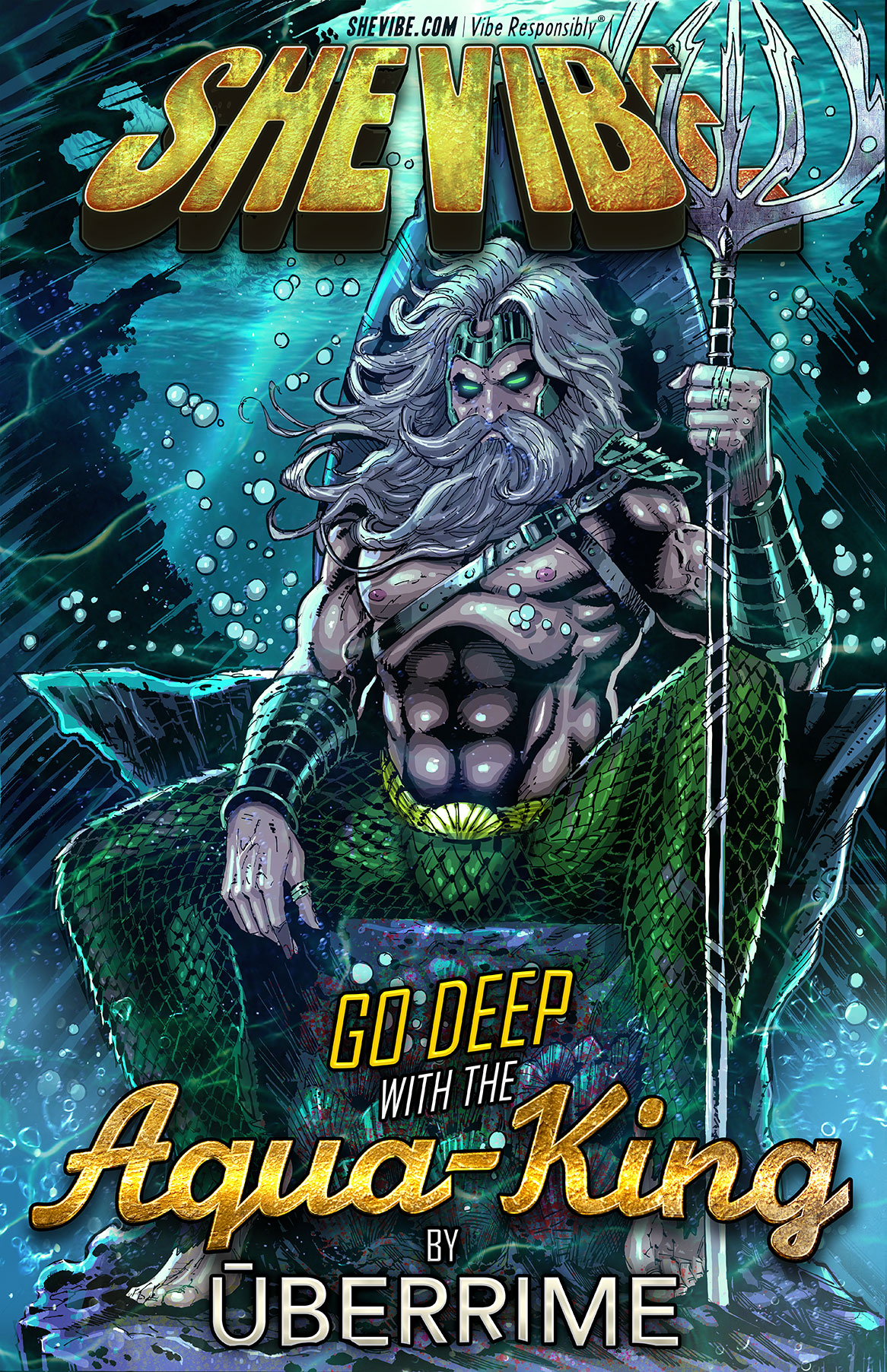 A SheVibe Exclusive! Go Deep With The Aqua-King By Uberrime