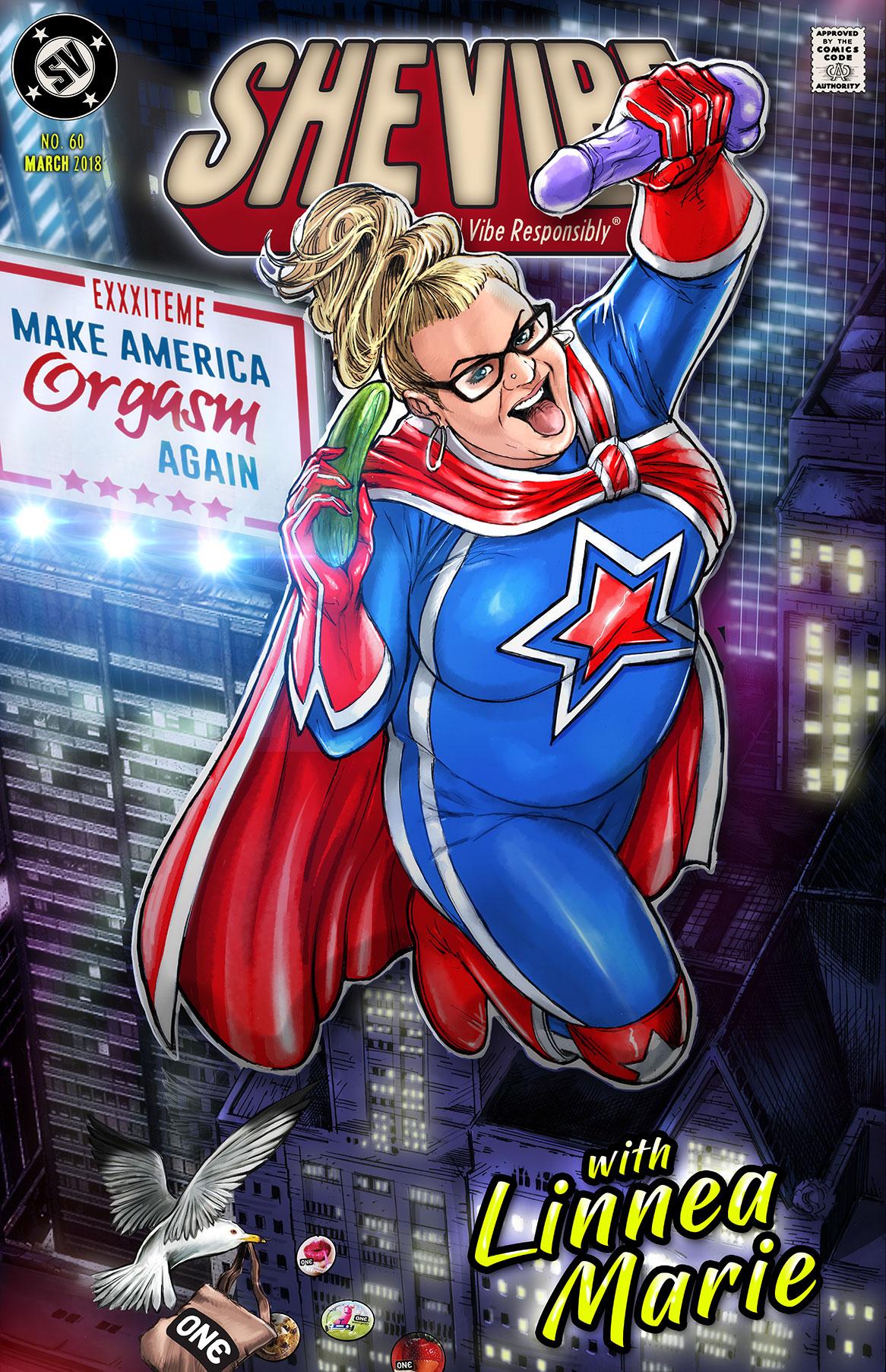 SheVibe Feature: Make America Orgasm Again - With Linnea Marie