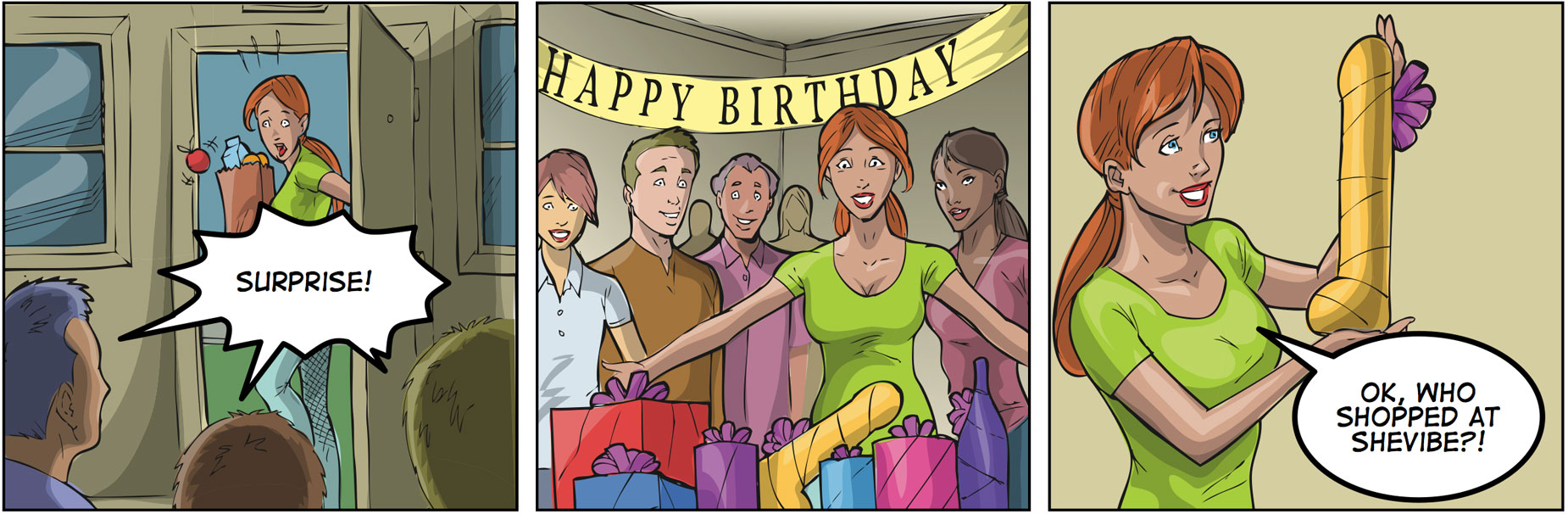 Real sister birthday surprise free porn comix online
