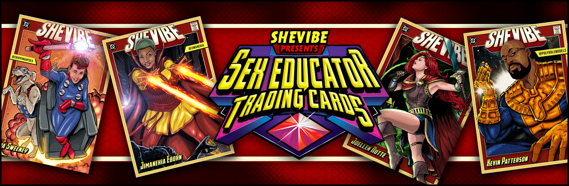 Sex Educator Trading Cards