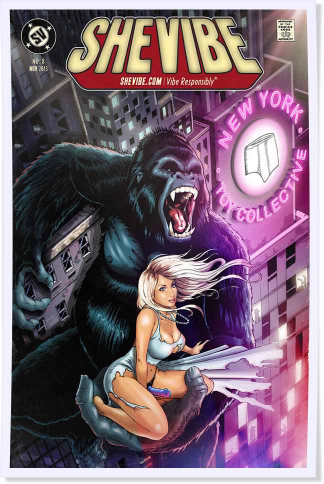 KING KONG - New York Toy Collective