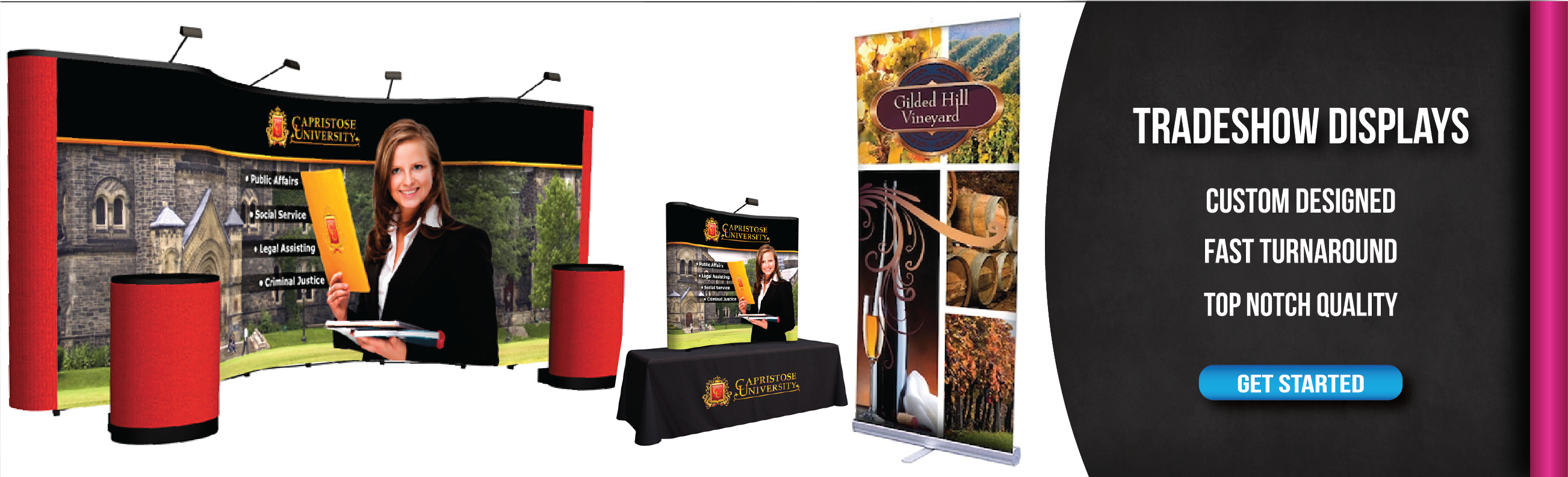 Custom Signs And Banners With Fast Turnaround From Signquick