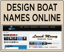 Decals Boat Lettering Signquick