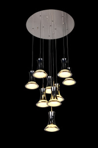 Contemporary Multi Light Pendant