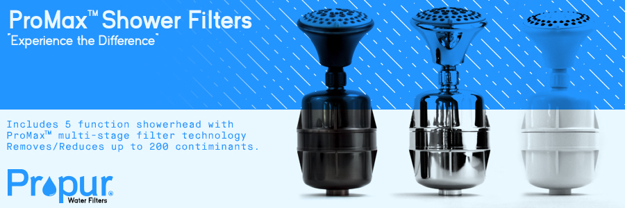 Propur shower filters