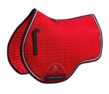 PE Euro Jump Saddle Blanket Red