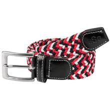 USG Casual Belt Red White Black