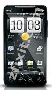 HTC Sprint EVO Cracked Glass Repair