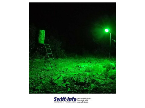 Boar Light Baited Feeder Light Green Led