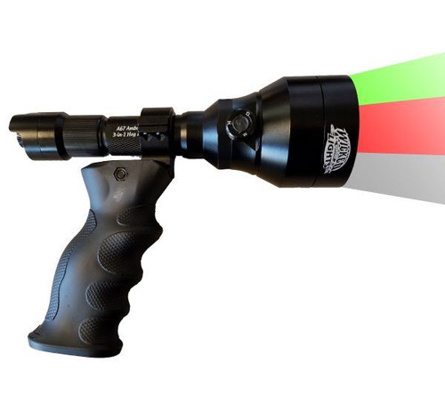 Wicked Lights A67ic 3 Color In 1 Night Hunting Scan Light
