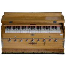 BINA Sangeet Harmonium, 2 Reeds, 3.5 Octaves, 9 Stops, Coupler BJB