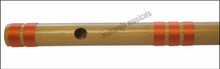 MAHARAJA Bansuri Scale C Sharp Small 9 Inch, Indian Bamboo Flute CFB