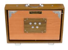 MAHARAJA MUSICALS Concert Shruti Box, Natural Color With Bag - AGB