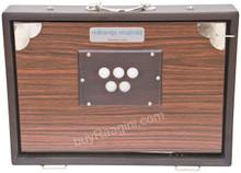 MAHARAJA MUSICALS Concert Shruti Box, Rosewood Color With Bag - BAF