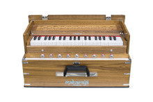 MAHARAJA Harmonium, Kirtan Harmonium, Cassic Edition, 9 Stop, Natural Color, A440, 42 Keys, Coupler KH1