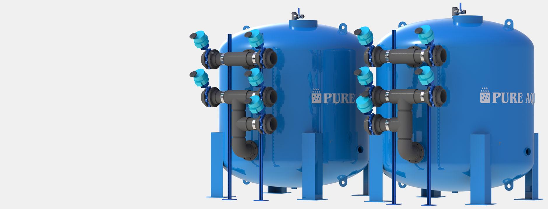 Systèmes de filtres à eau