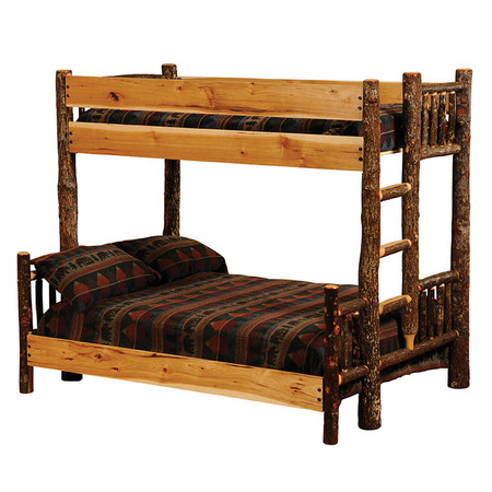 FL80120 Hickory Bunk Bed