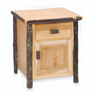 FL81040 Hickory Enclosed Nightstand