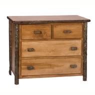 FL82025 Low-Boy 4 Drawer Dresser